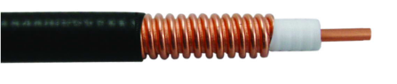 50 Ohm Coaxial Corrugated Copper Cable 1/2 Inch  Super Flexible, Lower Smoke, Halogen-Free