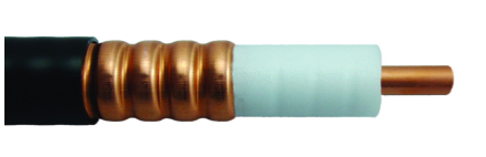 50 Ohm Coaxial Corrugated Copper Cable 7/8 Inch Standard, Lower Smoke, Halogen-Free