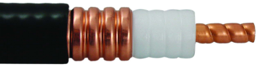 50 Ohm Coaxial Corrugated Copper Cable 7/8 Inch Super Flexible