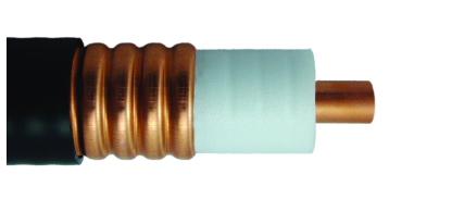 50 Ohm Coaxial Corrugated Copper Cable 1-1/4 Inch Standard Low Loss