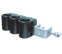 Cable Clamp for 7/8 Coaxial Corrugated Cable 3 Way