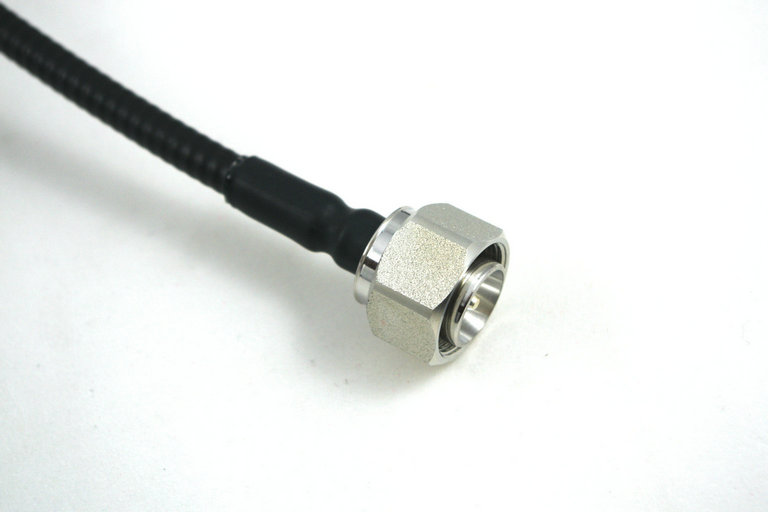 """Low PIM RF Jumper Cable 1/4"""" Super Flexible 4.3/10 Male Straight to 4.3/10 Male Straight"""