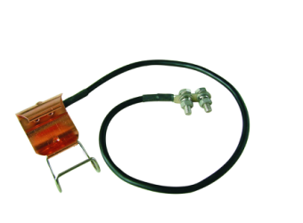 YOLYCOM outdoor Grounding Kit for 1-5/8 Corrugated Coaxial Cable Spring Type