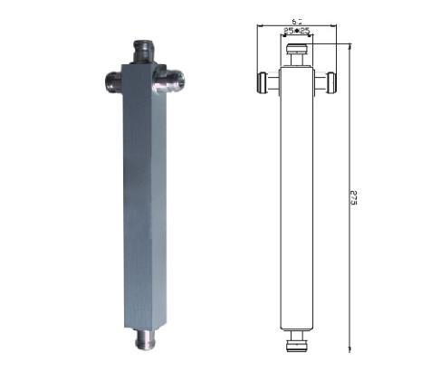 3 Way Splitter Cavity Power