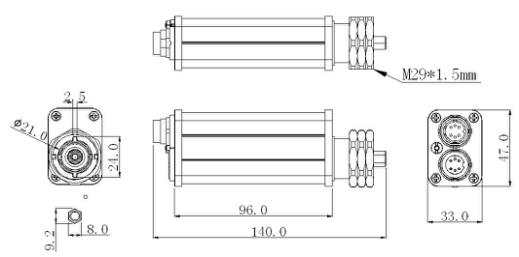 AISG Remote Control Unit for Variable Tilt Antenna